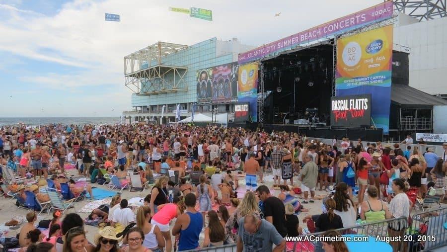 Hip Hop Concert In Atlantic City